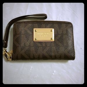 Michael Kors Wristlet Wallet in like new condition